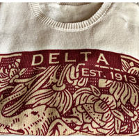 Delta Lucky Stamp Sweater  Thumbnail